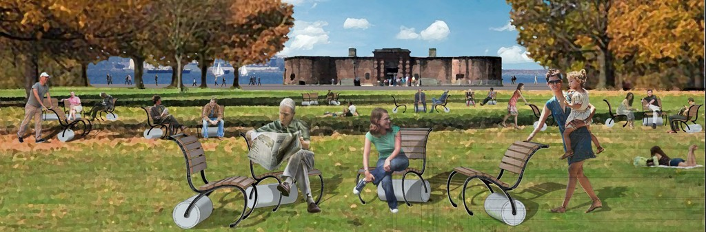 Battery Park Chair Design rendering