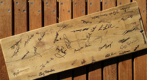 Wood at work Resolution board